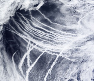 Ship tracks NASA